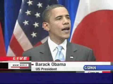 President Barack Obama Speech in Tokyo (4)