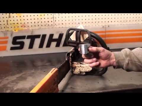 The chainsaw guy shop talk Stihl  Husqvarna chainsaw  testing  compression. is it a good test