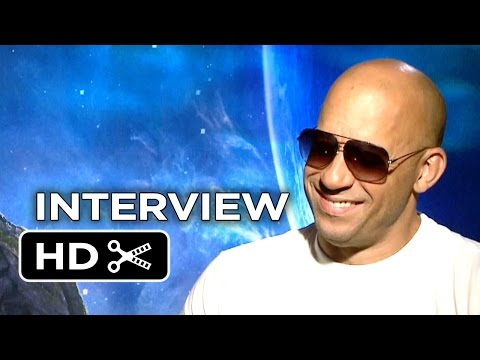 Guardians of the Galaxy Interview - Vin Diesel (2014) - Marvel Space Adventure HD