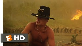 The Smell of Napalm In the Morning - Apocalypse Now (4/8) Movie CLIP (1979) HD