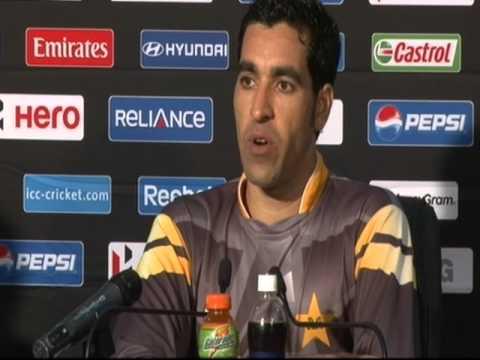 Umar Gul Post-Match Press Conference: Pakistan vs South Africa  World T20, Colombo 28/9/2012