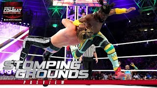 WWE Stomping Grounds 2019 match card, predictions, preview | State of Combat