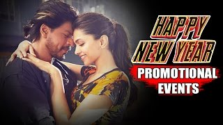 Happy New Year Movie (2014) Promotional Events | Shah Rukh Khan, Deepika Padukone