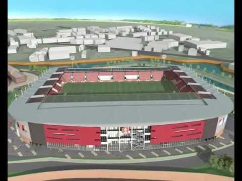 New York Stadium - CGI Fly Through