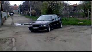 Electric  BMW E36 test on 24 volt  08042010006.mov