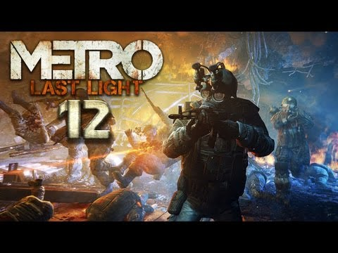 METRO: LAST LIGHT [HD+] #012 - Massenexekution ★ Let's Play Metro: Last Light