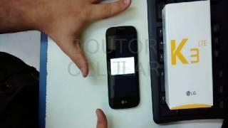 Formatar resetar o LG K3 configurações originais de fábrica