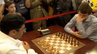 Anand vs Carlsen - 2013 Tal Memorial Blitz Chess