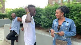 Kwadwo Nkansah Turns Kennedy Agyapong in the state because of Beautiful girl😂WEZZY USA COMEDY EP-1