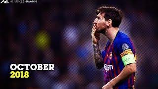 Lionel Messi  October  201819