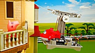 Toys | Peppa Pig & Super Wings | Cableway | Machinery | Lucky Day