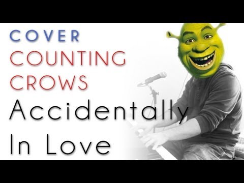 Counting Crows - Accidentally In Love - Shrek 2 (piano cover &amp; tutorial)