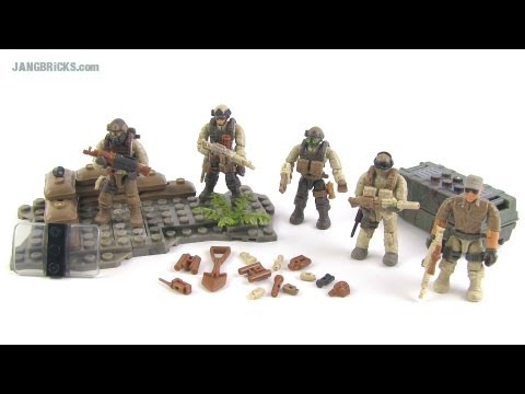 Mega Bloks Call of Duty Desert Troopers set review!