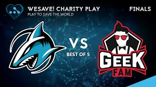 Geek Fam vs Adroit Game 5 (BO5) | WeSave! Charity Match