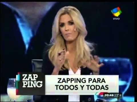 Viviana Canosa le pegó a Ángel de Brito y Paula Chaves