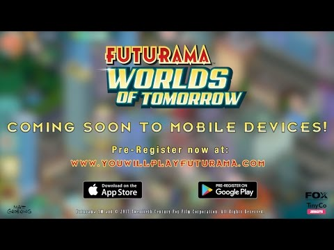 Futurama: Worlds of Tomorrow Trailer Released