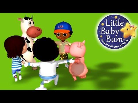 Ring Around The Rosy | Nursery Rhymes | By LittleBabyBum!