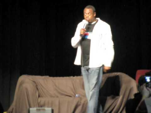 Armageddon Expo Wellington 2009 - Michael Winslow Special Performance - Part 1 of 4