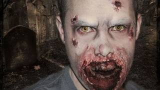 the walking dead inspiracion makeup tutorial