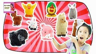 Animals Names for Children in English - Animals for Kids Children Learn Videos