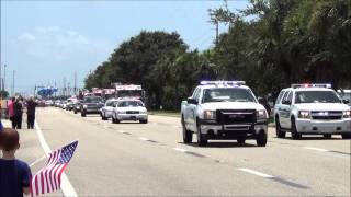 Sergeant Michael Wilsons Funeral Procession.
