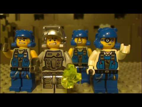 New Lego Power Miners Movie featuring Fire Blaster 8188