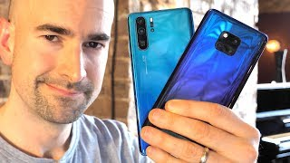 Huawei P30 Pro vs Mate 20 Pro | Side-by-side comparison