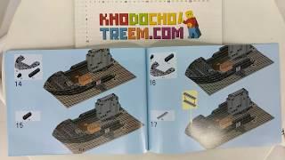 Hướng dẫn lắp ráp Lepin 02012 Lego City 60095 Deep Sea Exploration Vessel  giá sốc rẻ nhất