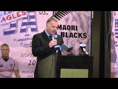 USA Rugby and Maori All Blacks Press Conference