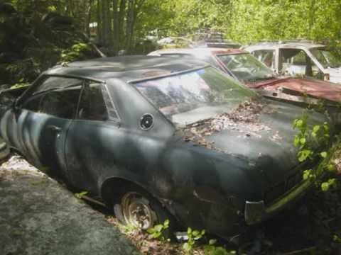 AUTO GRAVEYARD. Part 2 (Car Cemetery Auto Friedhof)