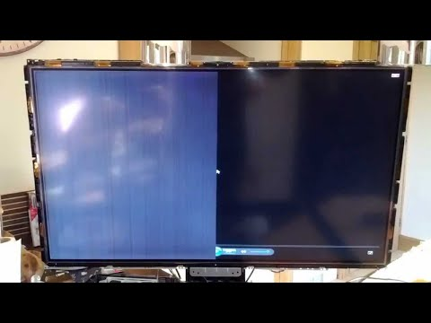 how to fix horizontal or vertical lines on lcd tv