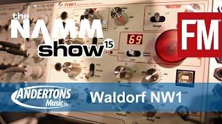 NAMM 2015 - Waldorf NW1 eurorack wavetable module