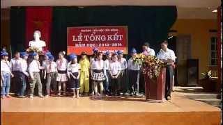 Lễ tổng kết năm học 2013-2014 trường TH Cẩm Đông