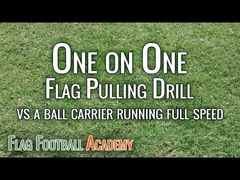 Flag Football Drills And Skills - Magazine cover