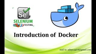 Introduction of Docker using Selenium WebDriver | OS virtualization using Docker