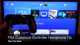 PS4 DualShock Controller Headphone Tip