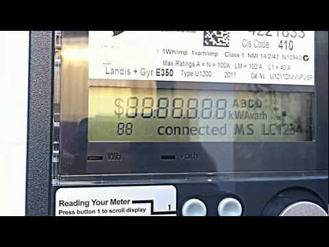 sp ausnet smart meter instructions