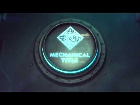 Mechanical Iron Logo Reveal