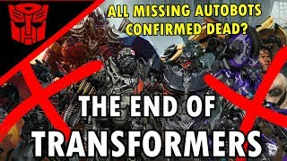No More Transformers Movies/Reboot Confirmed By Hasbro-Transformers The Last Knight