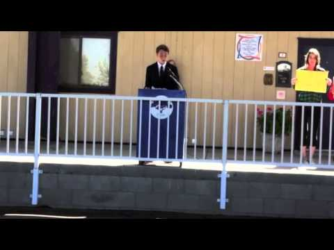John McLaren - speech at Oakridge Private School