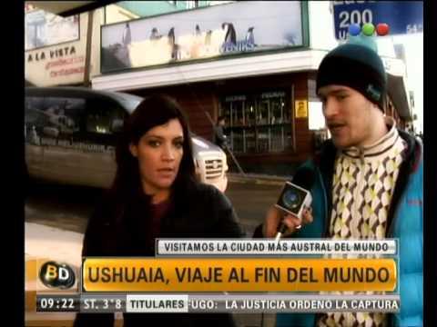 Ushuaia, uno de los lugares más impresionantes del mundo - Telefe Noticias