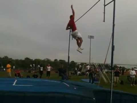 Brazosport High Schools X-Man Winning Clear Springs Meet March 2012, 14'6""