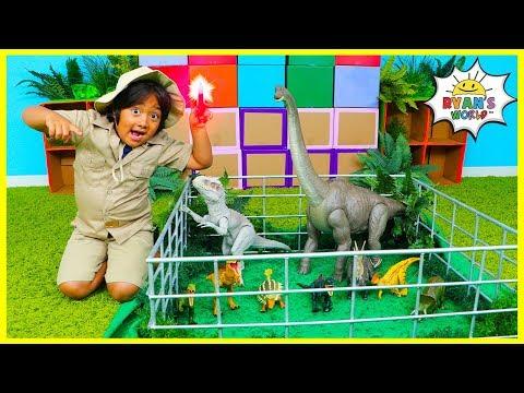 Download  Ryan works at Jurassic World protecting Dinosaurs from The Indominus Rex!!! Gratis, download lagu terbaru