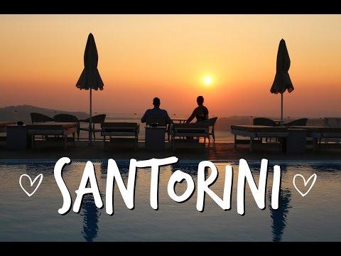 SANTORINI GREECE - travel video August 2016