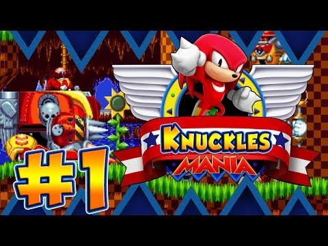 ABM: Sonic Mania Gameplay!! Knuckles Mania!! Walkthrough 1 HD