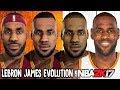 Lebron James Evolution Face Comparison NBA 2K4 NBA 2K17 mp3