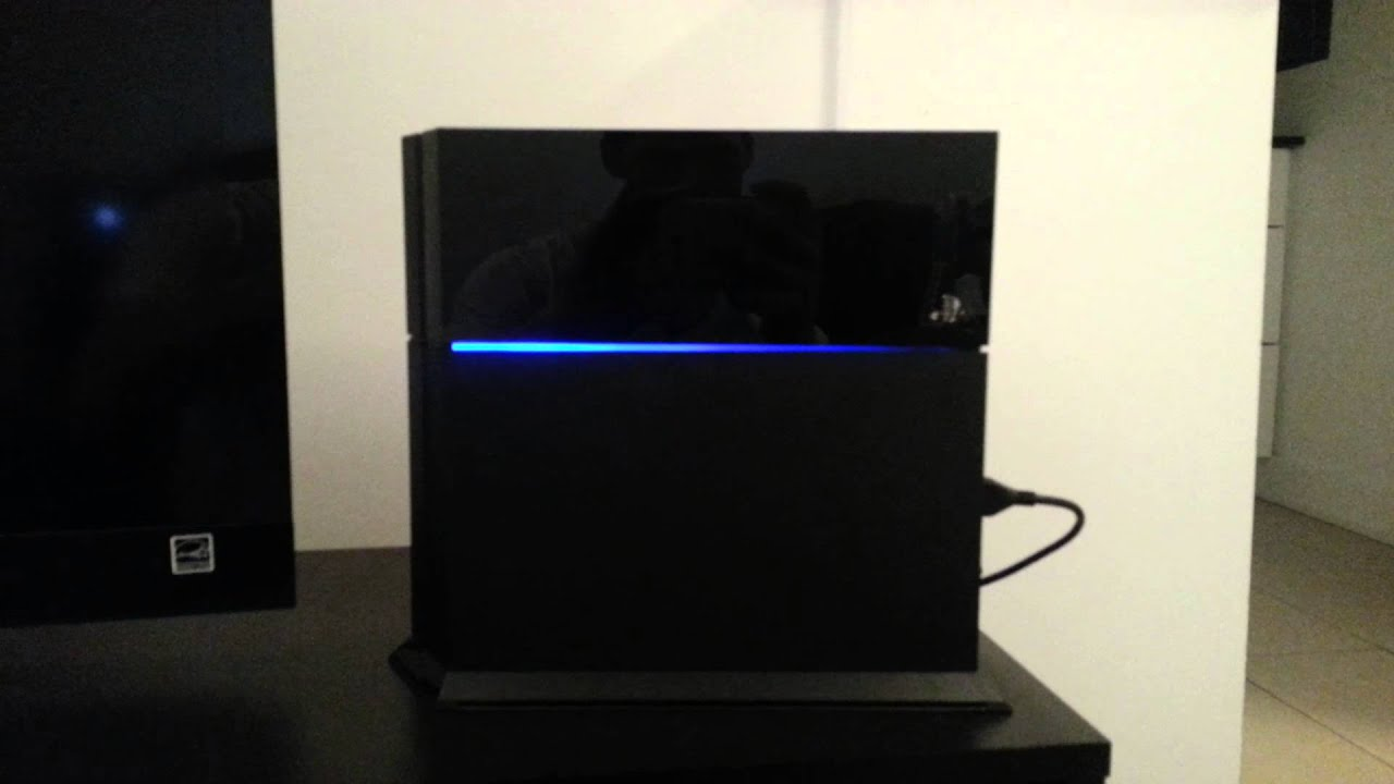 how to turn on tv with ps4