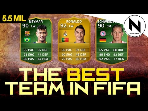 90 NEYMAR & 7 CHEM RONALDO!! - The Best Team in FIFA #38