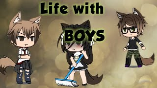 Life with boys/Gacha Life/ Episode 1: Sold!