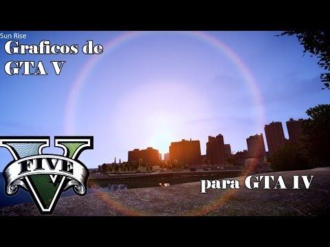 Graficos de GTA V para GTA IV | Tutorial | español | HD